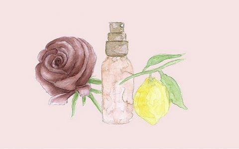 Deodorant mit Rosen